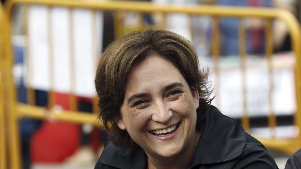 Ada Colau, líder de BComú
