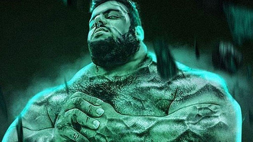 'El increíble Hulk' se alista en el ejército iraní para combatir al Estado Islámico en Siria