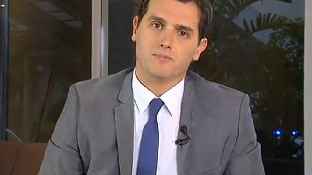 Albert Rivera en Telecinco