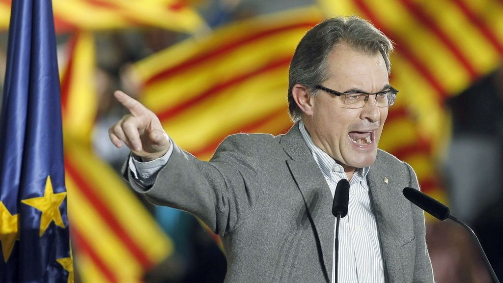Artur Mas. Foto: EFE