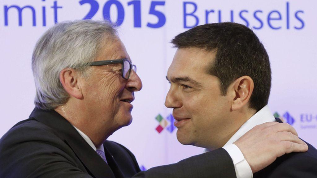 Juncker y Tsipras en la Cumbre de la UE y la CELAC en Bruselas