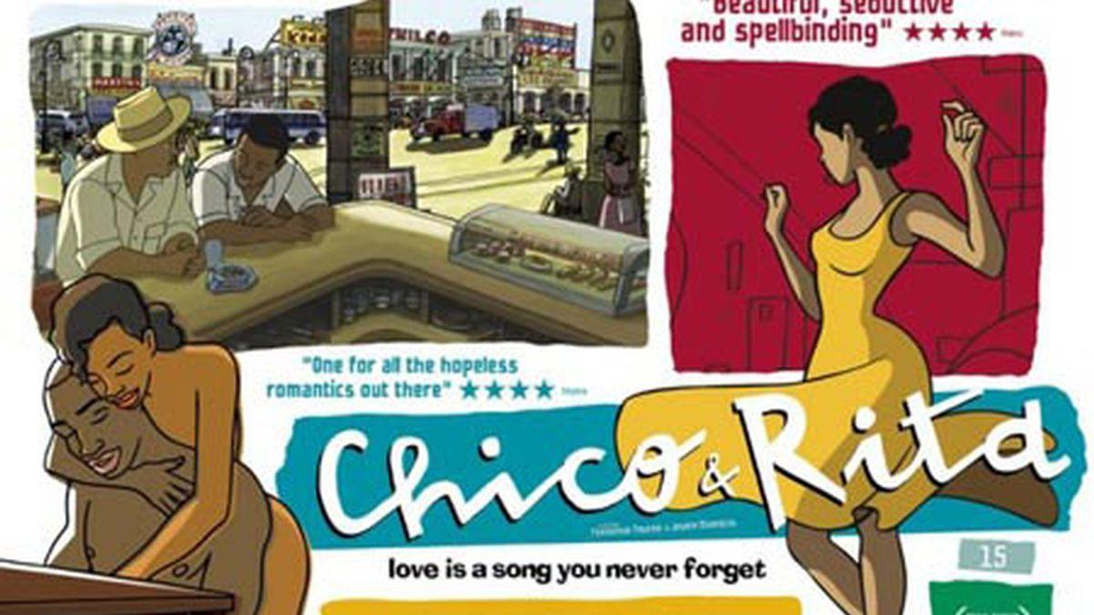 Cartel de 'Chico y Rita'