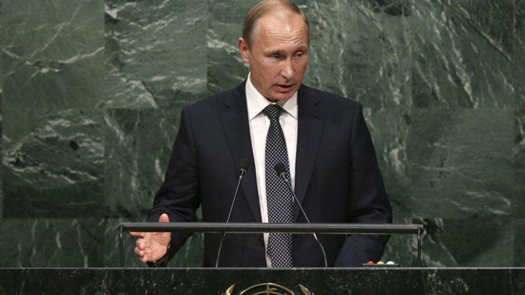 Putin interviene ante la Asamblea General de la ONU