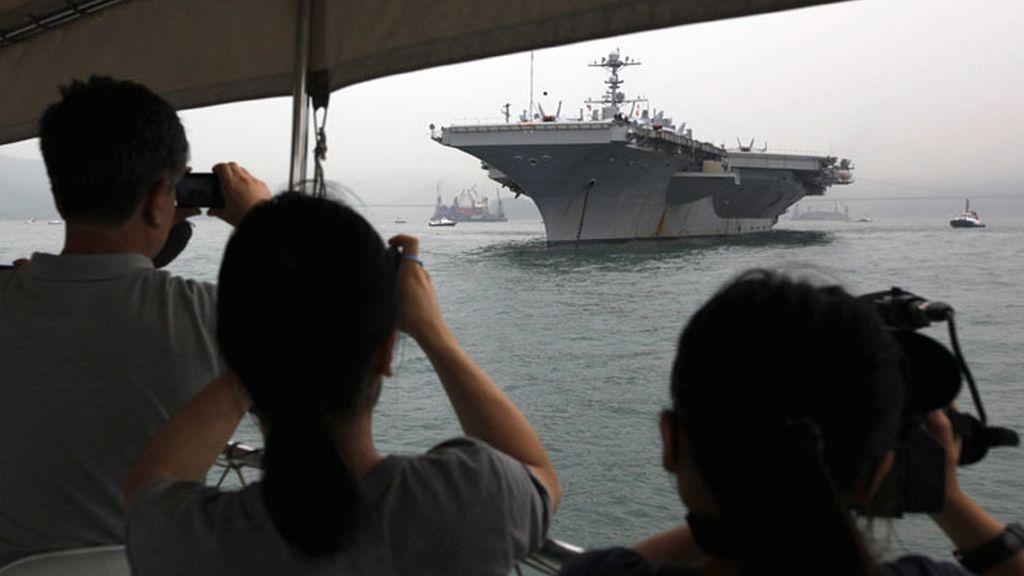 EEUU envía otro portaaviones al Golfo Pérsico