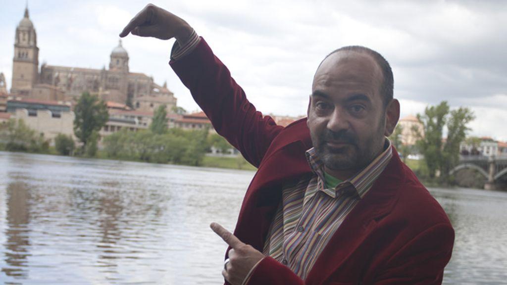José Corbacho ha elegido la Sierra de Francia en Salamanca como su vista favorita