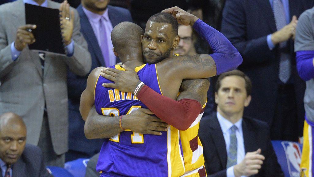 La despedida entre dos leyendas: Kobe vs LeBron (11/02/2016)