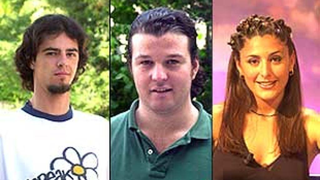 Tres nuevos concursantes entraban al concurso