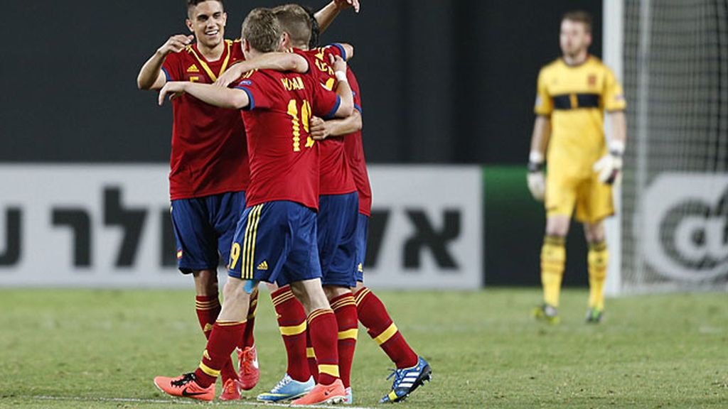 España jugará la final del Europeo Sub-21 tras ganar a Noruega (3-0)
