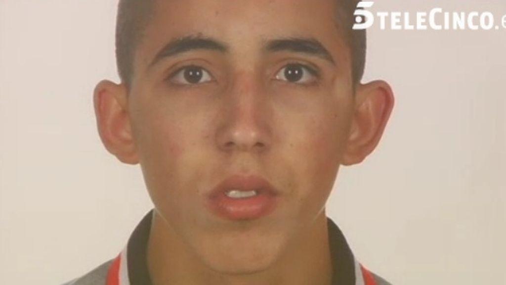 Nasr, de 18 años, cuyo cadáver fue hallado enterrado en Almería