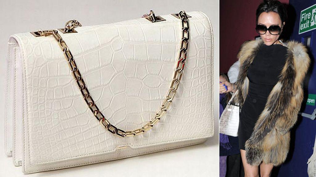 Victoria Beckham, polémica por sus bolsos de cocodrilo