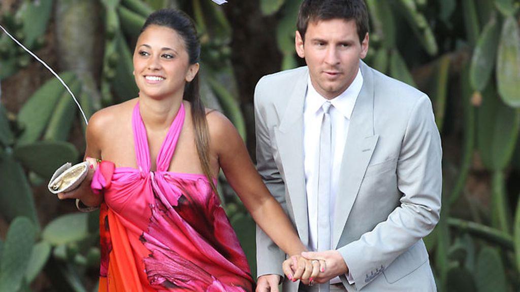 Messi y su chica, Antonella Roccuzzo