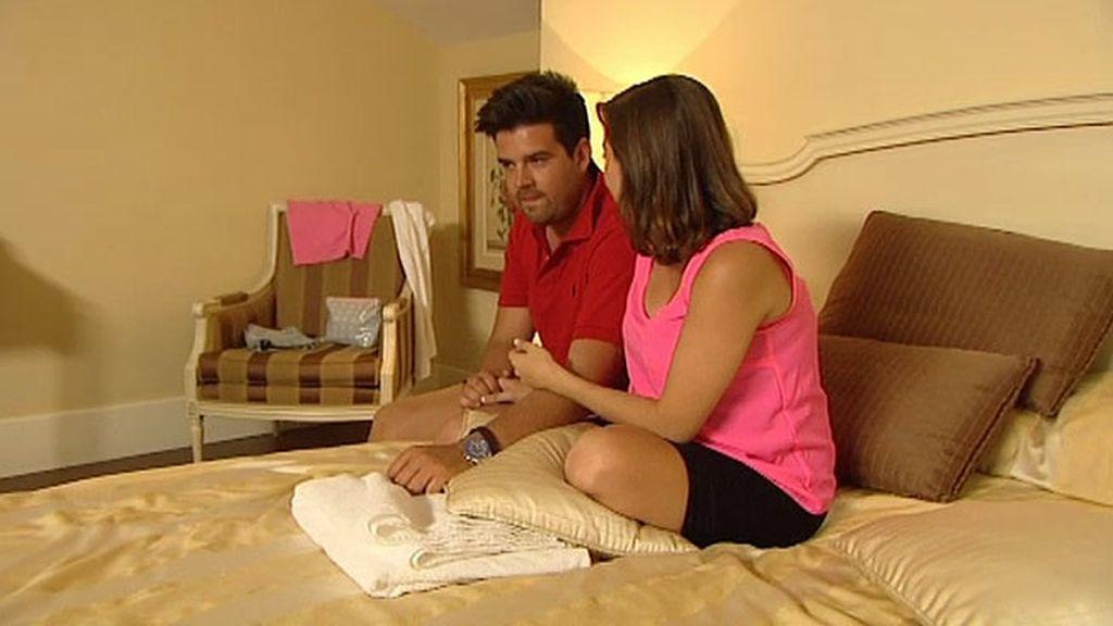 Loli no solo se queda con la suite, también con los besos de Alexis