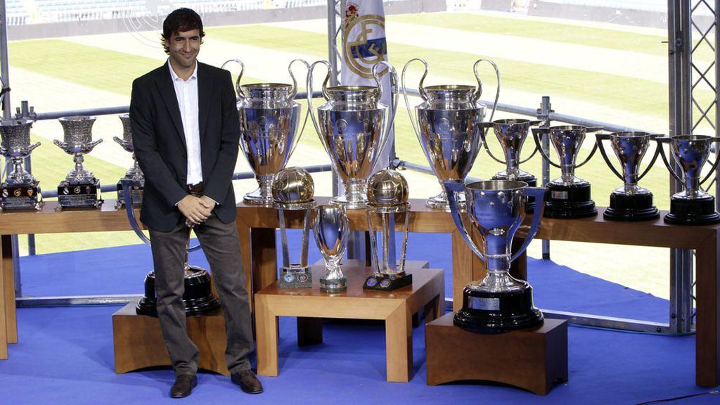 El 26 de julio de 2010 Raúl se despidió del Real Madrid