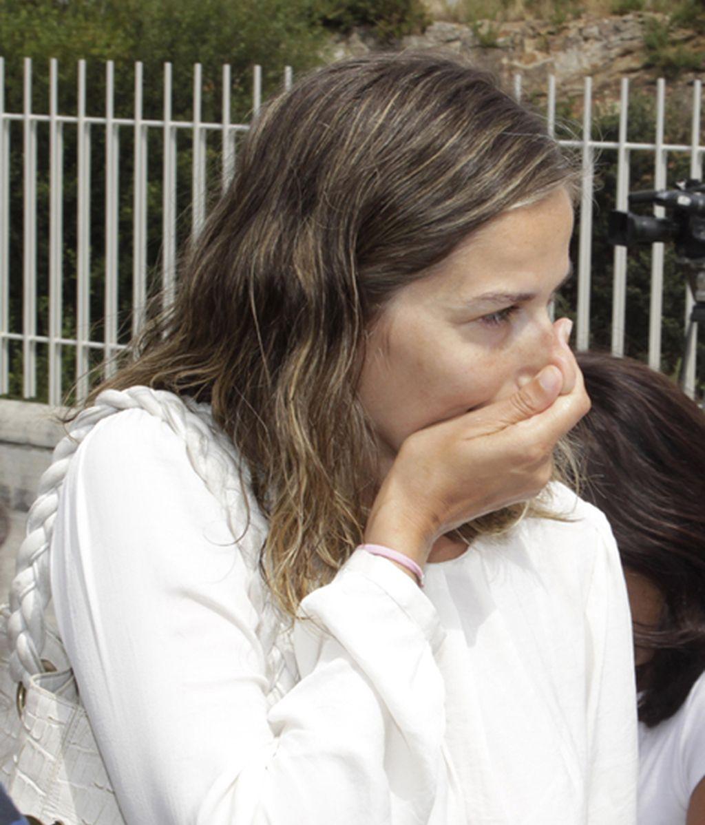 Emma Lustres, muy afectada por el fallecimiento de Rosalía Mera