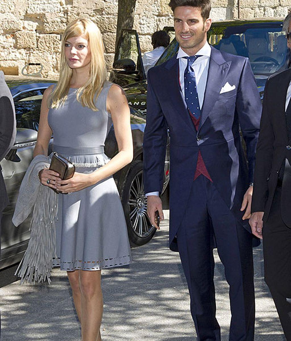 La modelo Cristina Tossio y el exfutbolista Aitor Ocio