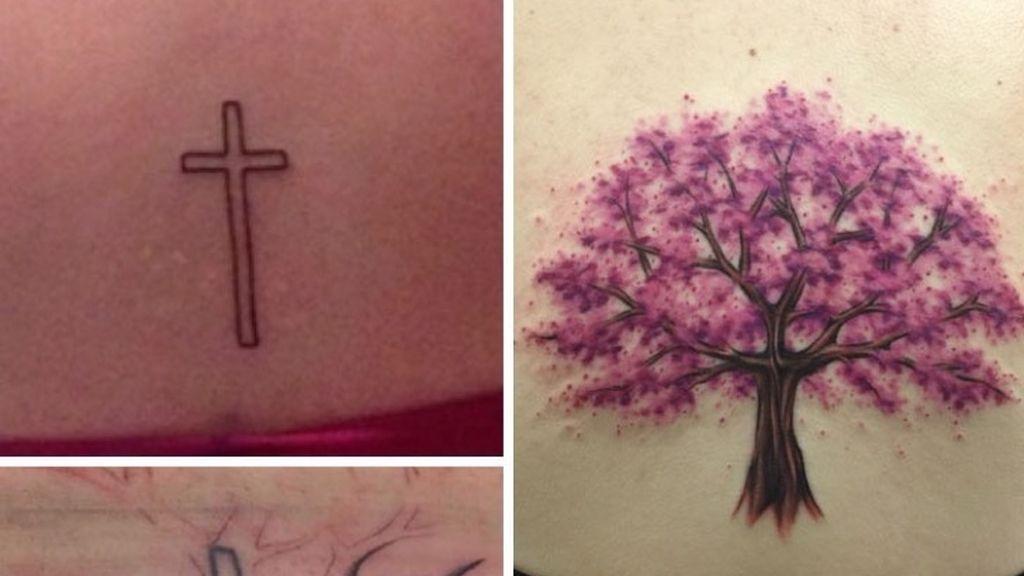 La cruz que crea vida vegetal