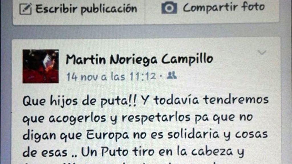 concejal del PP Peñamellera Baja,Martín Noriega Campillo