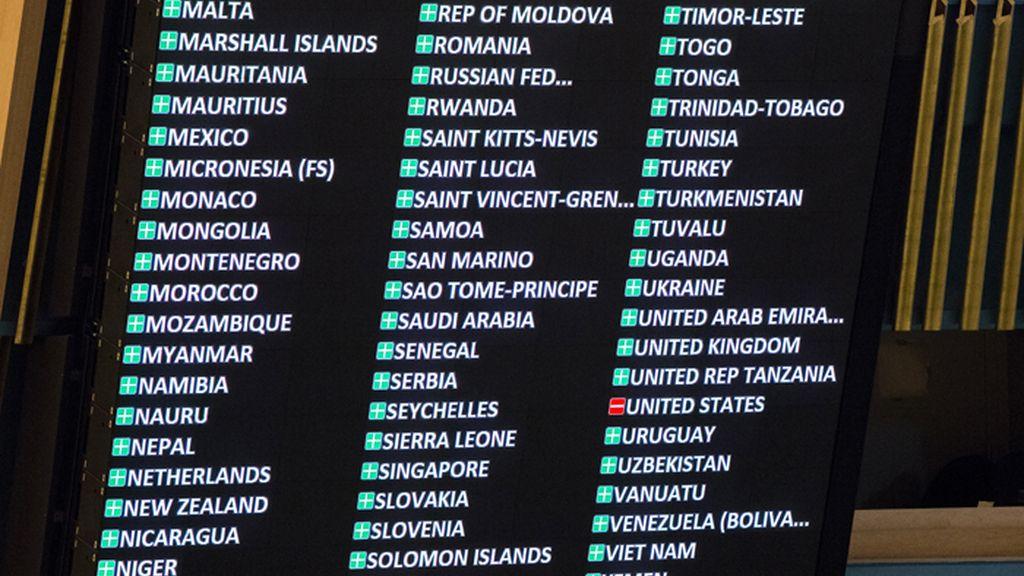 La ONU vota a favor de levantar el embargo a Cuba