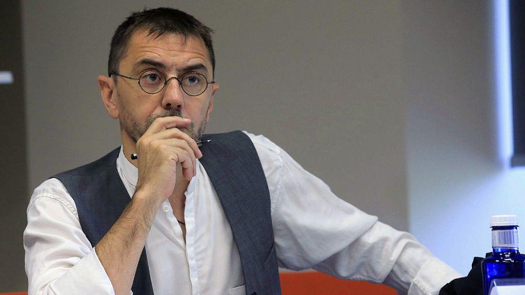El exdirigente y cofundador de Podemos, Juan Carlos Monedero
