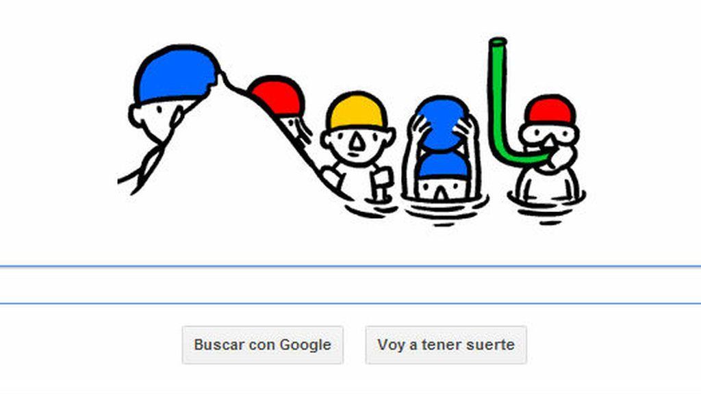 Google celebra con un doodle el solsticio de verano