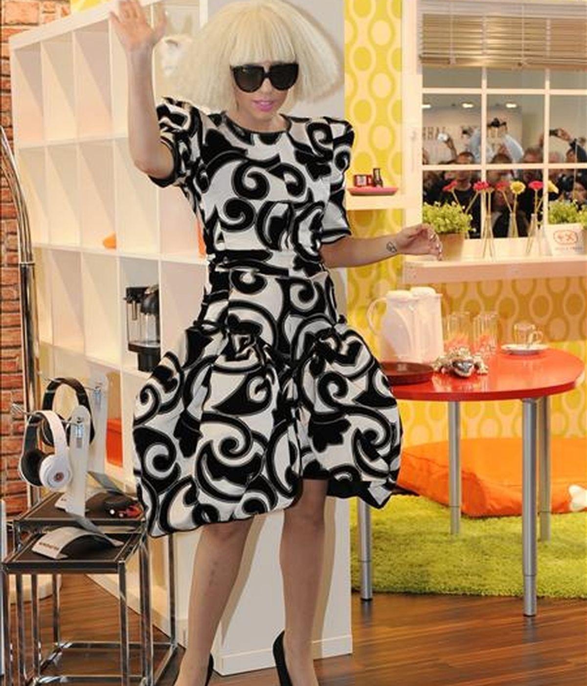 La cantante estadounidense Lady Gaga. EFE/Archivo