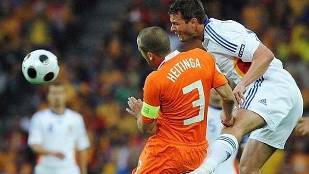Holanda - Rumanía (2-0)