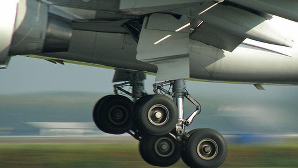 tren de aterrizaje, avión