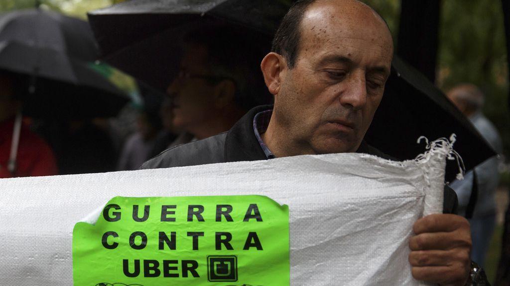 Un taxista contra laaplicación Uber