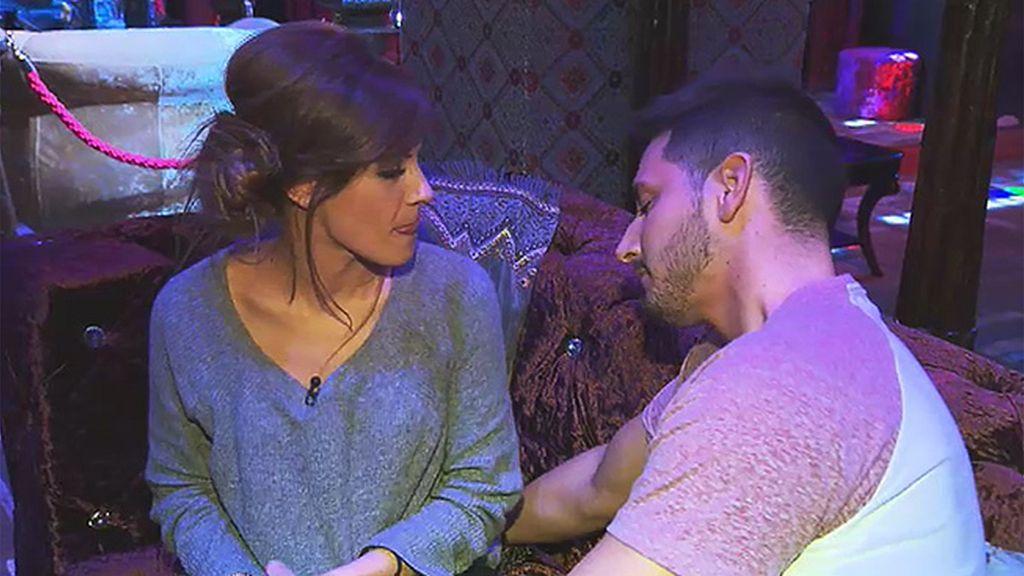 """Manu: """"Susana siempre me revienta el labio cuando me besa"""""""