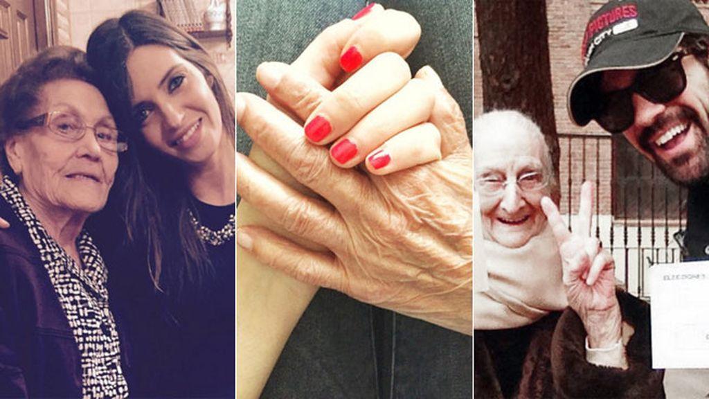 Celebrando las fiestas, yendo a votar o al teatro, ¡con la abuela siempre!