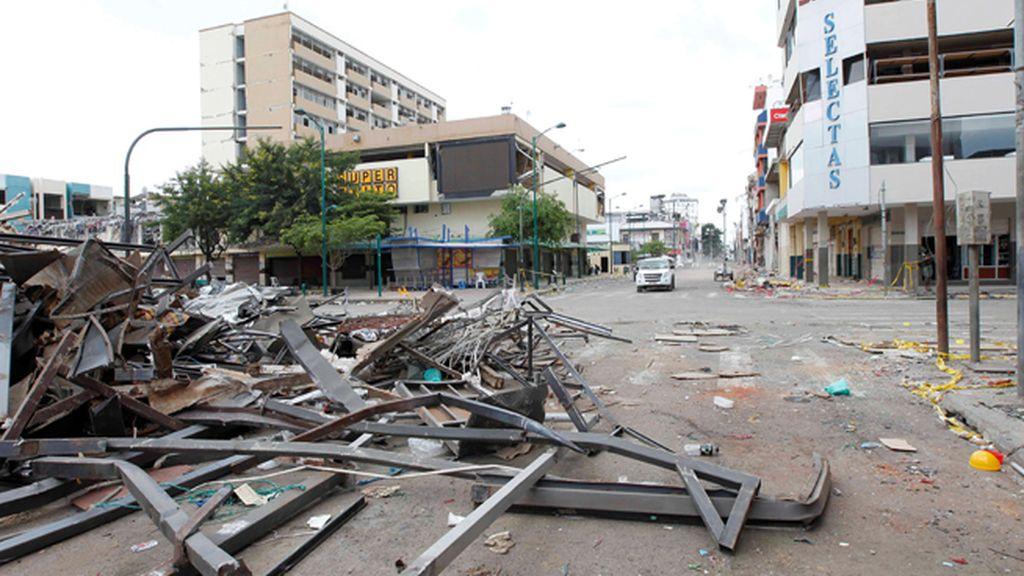 Ecuador sufre un nuevo terremoto de magnitud 6,7