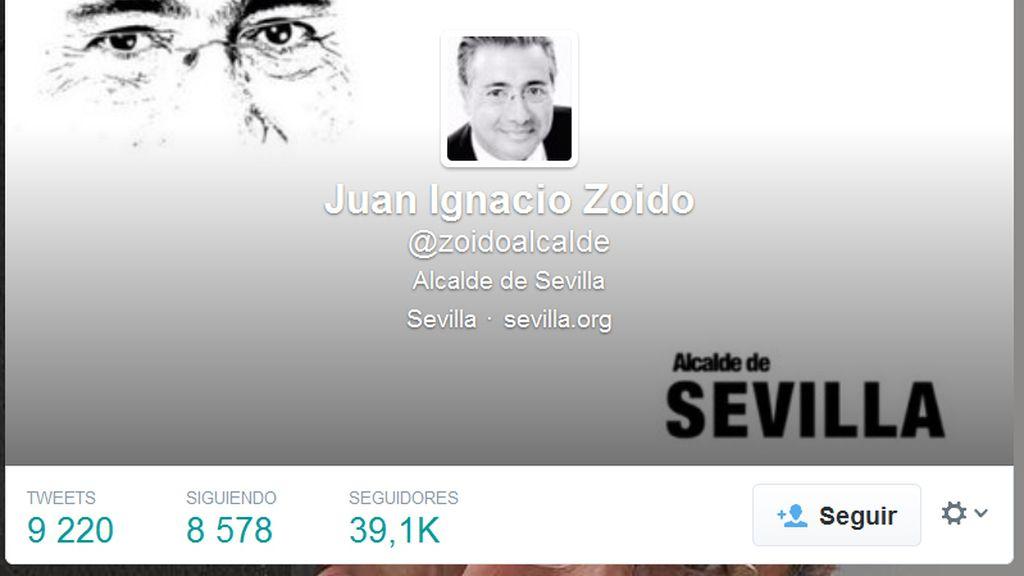 Tuit del alcalde de Sevilla sobre la nueva búsqueda del cuerpo de Marta del Castillo