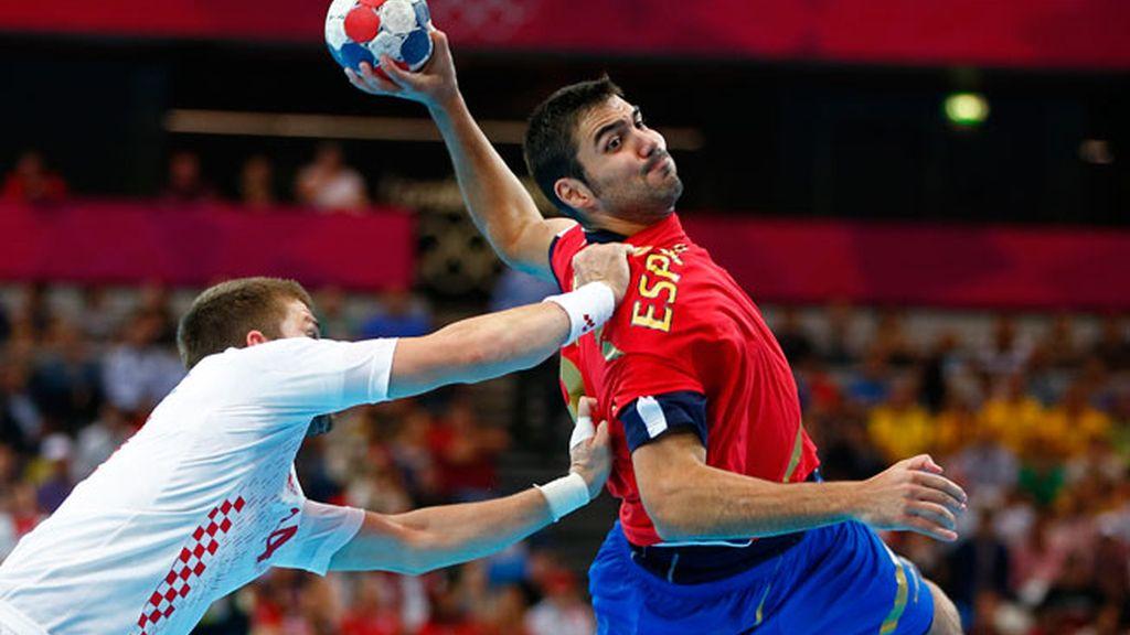 España cae ante Croacia (30-25)