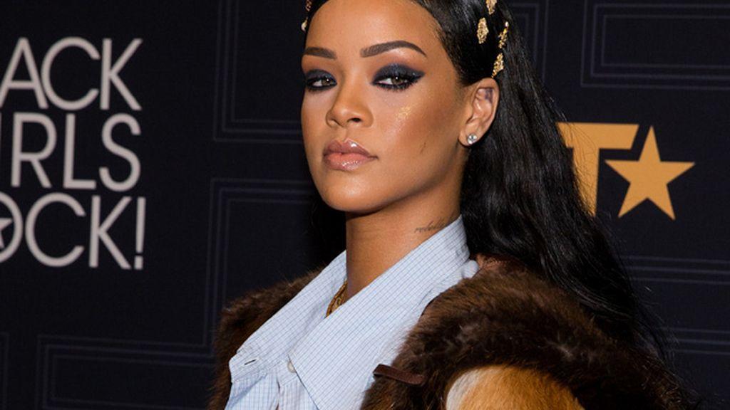 Las lágrimas de Rihanna en una camiseta