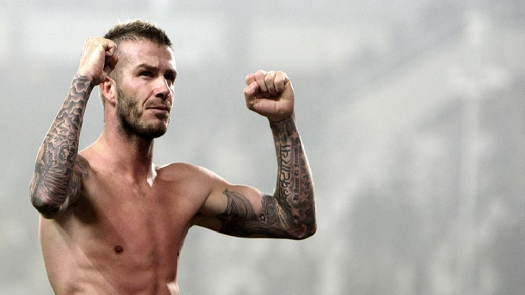 David Beckham. Inglaterra