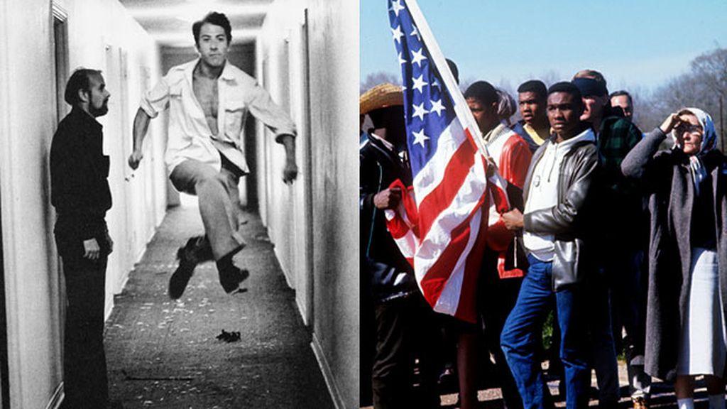 Dustin Hoffman y Martin Luther King Jr.