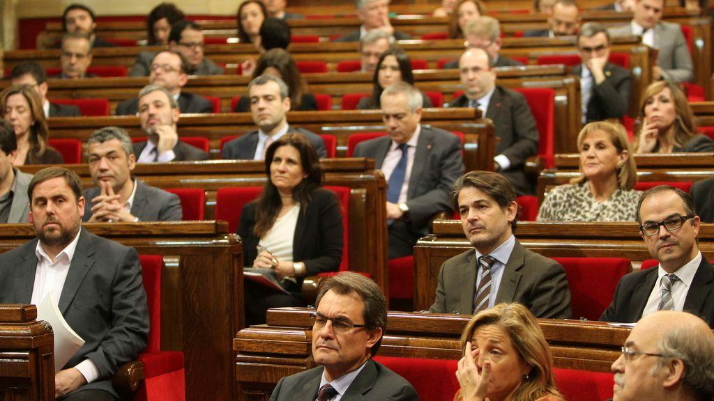 Se constituye el Parlament de la X legislatura catalana