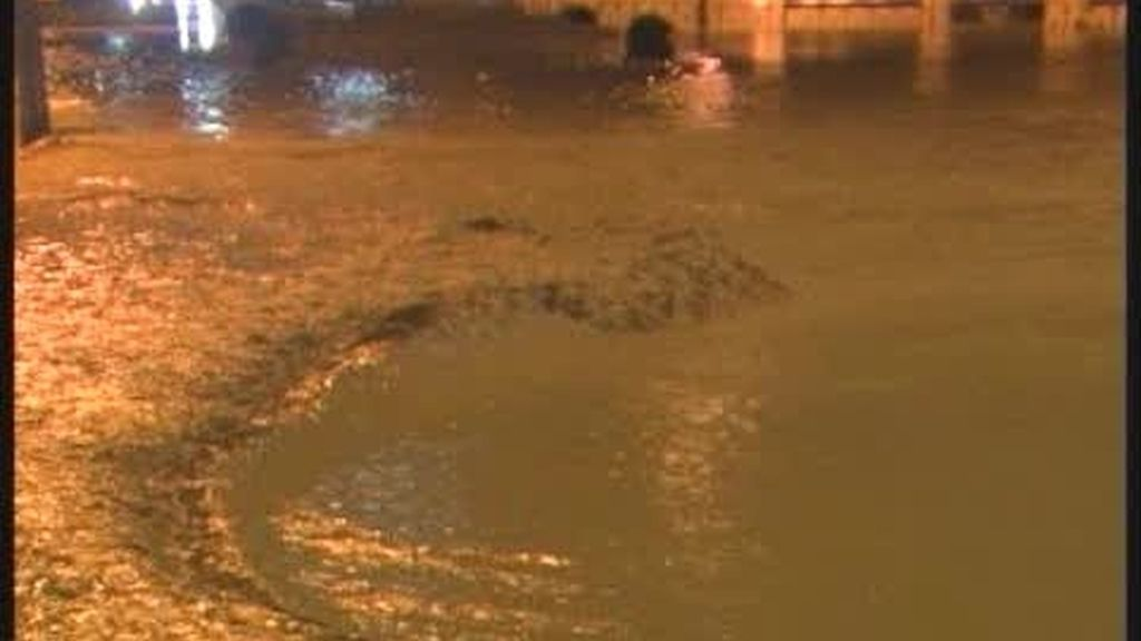 Écija se inunda