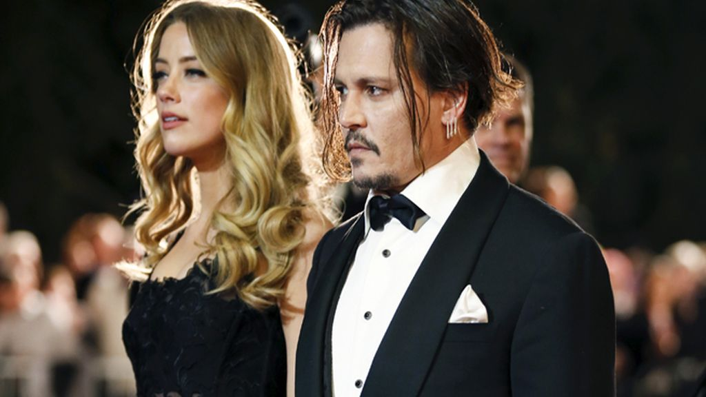 Alarma en Hollywood: Amber Heard denuncia a Jhonny Deep por malos tratos