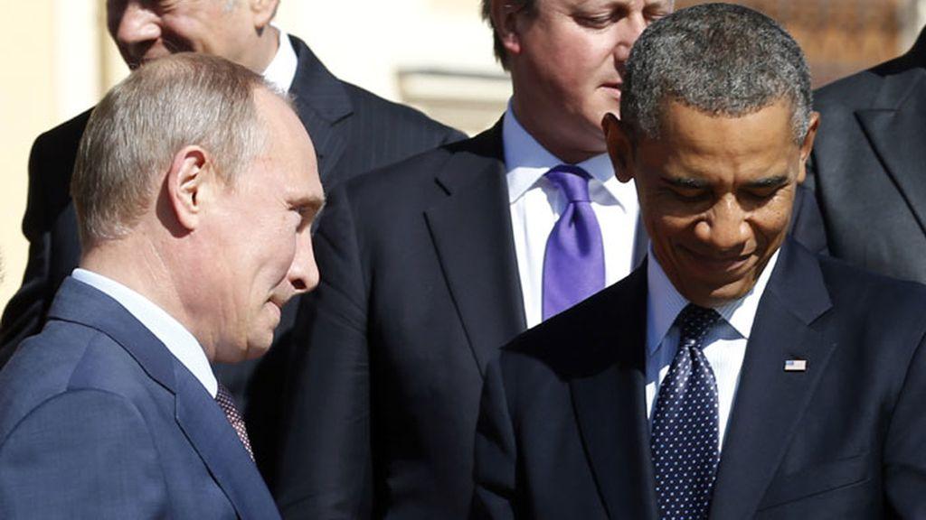 Putin y Obama se reúnen pero no consiguen acercar posturas sobre Siria