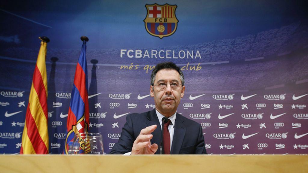 """El FC Barcelona muestra su """"desacuerdo más absoluto"""" con la prohibición de las esteladas"""