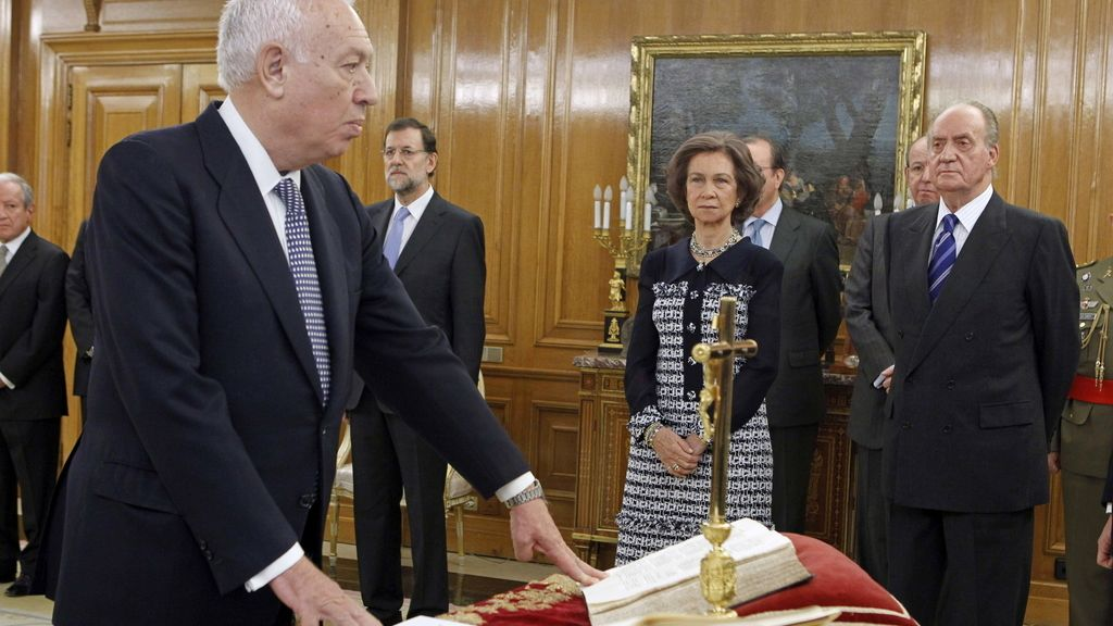 José Manuel García-Margallo jura como ministro de Asuntos Exteriores y Cooperación