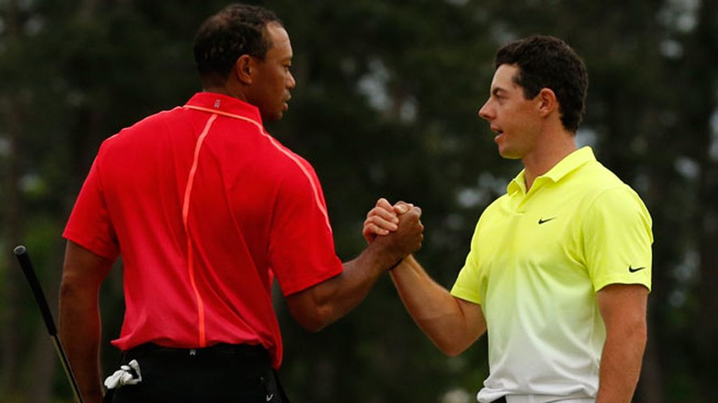 McIlroy y Tiger Woods