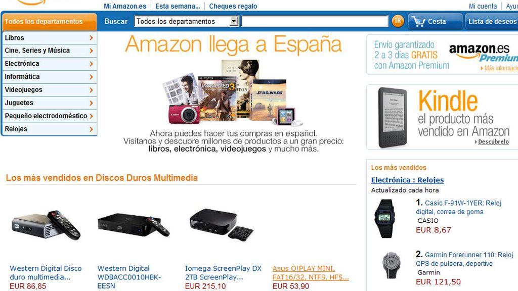 Amazon.es ya está disponible desde hace unas horas