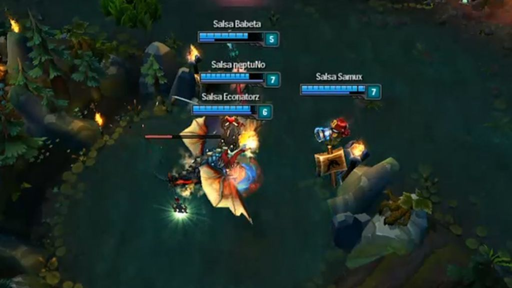 Team SalsaLoL, LVP, LoL, T7, in game