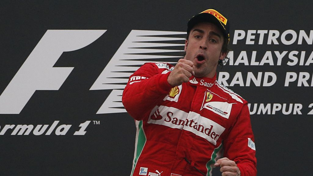 Alonso gana el Gran Premio de Malasia