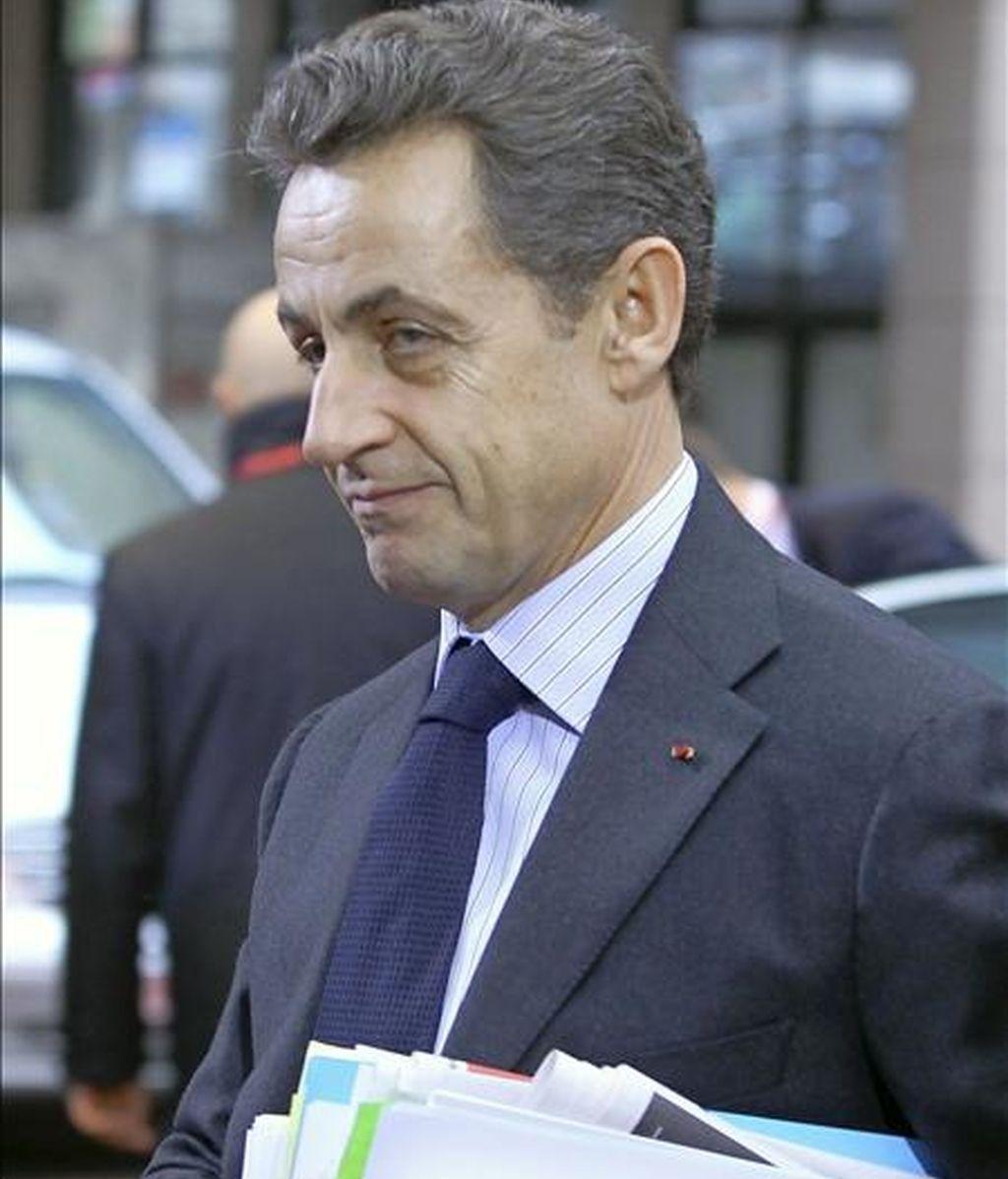 El presidente francés, Nicolas Sarkozy, impulsor del díalogo euromediterráneo. EFE/Archivo