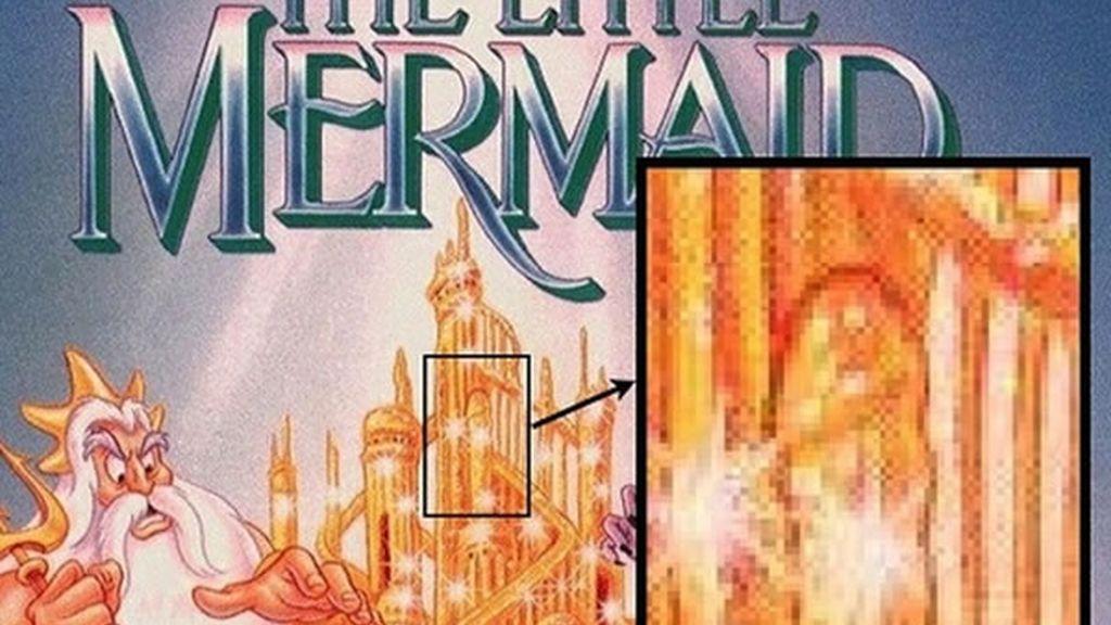 Eso que se ve en el cartel de 'La Sirenita' es una columna, ¿verdad?