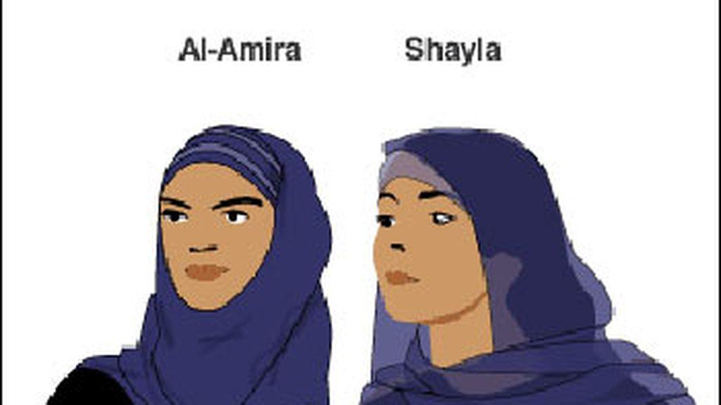 El al-amira y el shayla