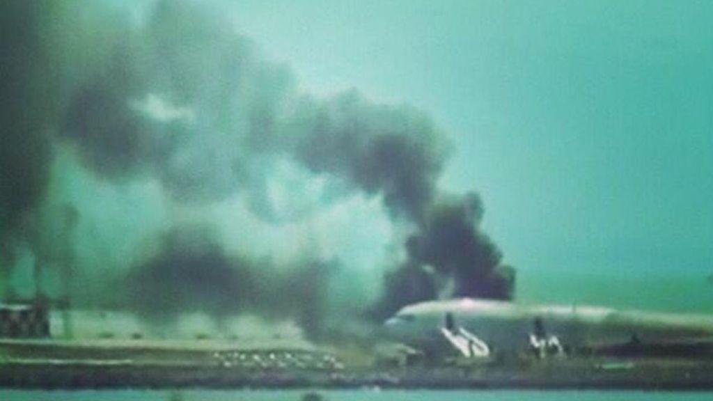 Un Boeing 777 se estrella en el Aeropuerto Internacional de San Francisco